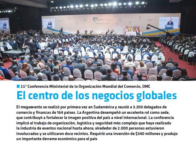 centro de los negocios globales